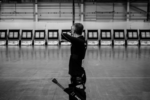 Qualifying. 2014 European Archery Festival. © 2014 The Infinite Curve