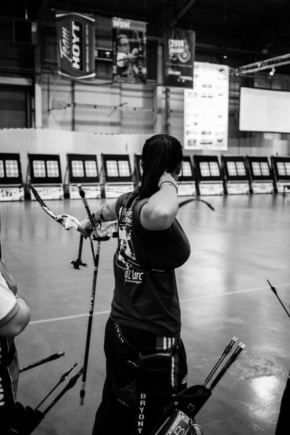 Bryony Pitman. 2014 European Archery Festival. © 2014 The Infinite Curve