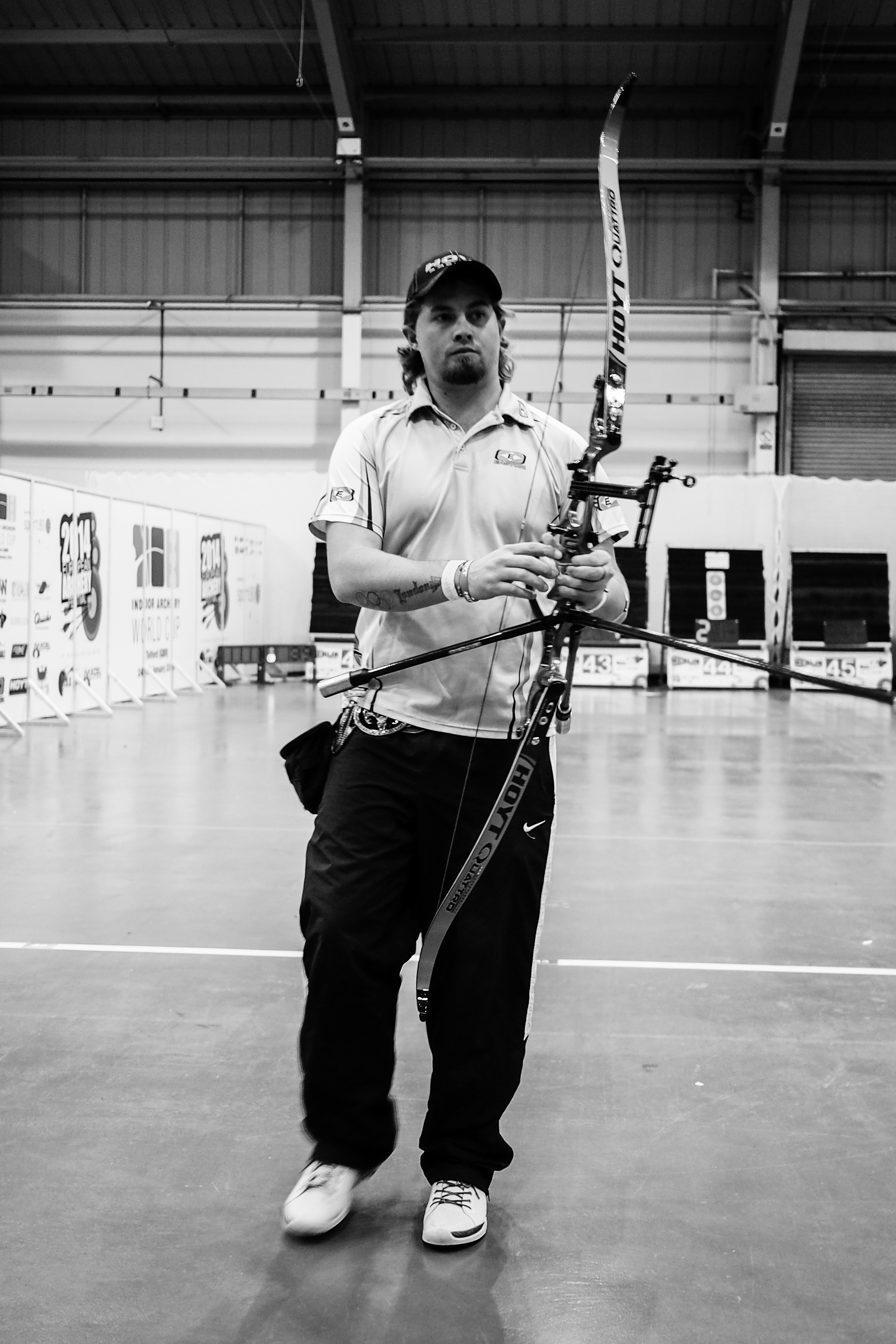 Brady Ellison. Recurve shootdown at the 2014 European Archery Festival. © 2014 The Infinite Curve