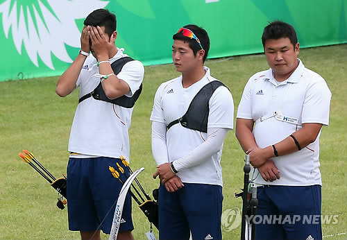 Pic via Yonhap news.